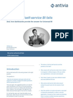 eBook - Why Self-service BI Fails and How Dashboards Are the Answer