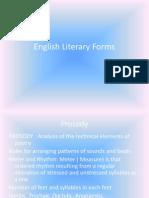 English Literary Forms 2