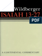 Isaiah 13-27, A Continental Commentary