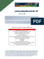 Pennsylvania Intelligence Bulletin No 131 Aug 30 2010