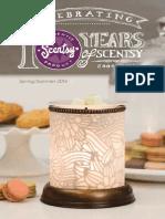 Scentsy Spring Summer Catalog 2014
