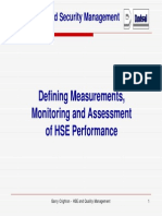 Day 2 - 1220 Garry Crighton Definition Assessment and Monitoring HSE Performance Revised 29-11-10