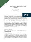 POSADA C. No Importa La Cantidad de Dinero. IT y La Teoria Cuantitativa.