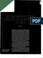 Expresando Lo Ideal a Travez de Lo Material. El Arte
