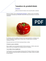 A Técnica Pomodoro de produtividade