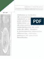 TEMA 63 SISTEMA Y METODOS DE CONSERVACION