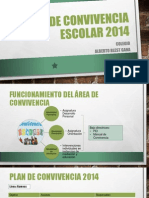 Presentacion Plan de Convivencia 010214