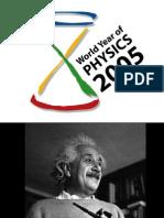 Einstein Pres. With Notes