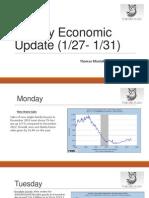 Weekly Econ Update