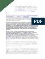Resumen de La Reforma Liberal