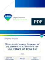 Skipso - The Global Cleantech Platform
