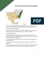 Mapas y Tratados de La Frontera de Estados Unidos