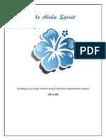 The Aloha Spirit- Working as an Aloha Lei Greeter