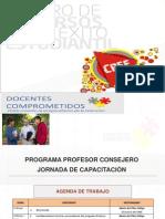 Capacitación profesor consejero 2013