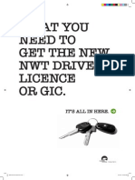 GET YOUR NWT DRIVER'S
