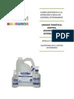 CSEM. Curso ATV. M4. Asepsia, desinfección y esterilización