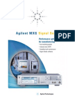MXG Signal Generator Brochure