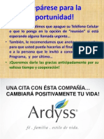 EL PLAN DE 3 DE ARDYSSS INTERNATIONAL
