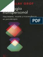 Psicologia Transpersonal = Stanislav Grof