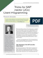 Tips&Tricks JCo Programming