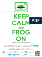 Frog Buzz Posters With QR Code