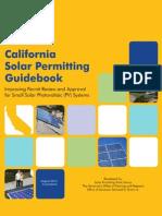 California Solar Permitting Guidebook