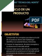 Ciclo de Un Producto Diapositivas (Marketing)