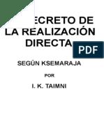 Taimni IK - Secreto de la realizacion.doc
