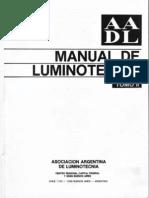 Manual Luminotecnia AADL II