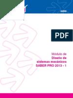 Modulo de diseño de sistemas mecánicos 2013-1