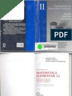 Volume 11 - Matemática Financeira