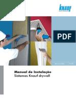 Manual de técnicas de instalação de Sistemas Knauf drywall