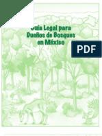 Guía legal para dueños de bosques