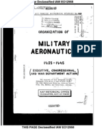 AAF Military Aeronautics History (1935-45)