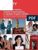 spoken english exam