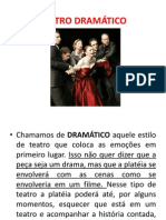 9 Ano Teatro Dramatico