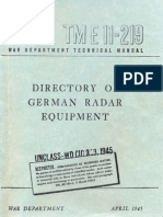 Directory of German Radio Equipment