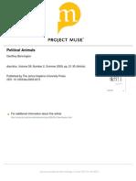 Bennington, Geoffrey - Political Animals.pdf