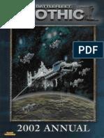 Battlefleet Gothic - 2002 Annual