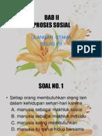 Bab II - Proses Sosial