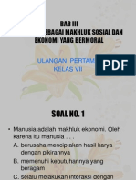 Bab 3 - Manusia Sebagai Makhluk Sosial & Ekonomi - 1