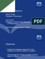 2011 Pre-Reg Pharmacy Asthma