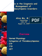 8.10.09 Ma Thrombocytopenia
