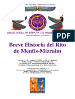 Breve Historia Del Rito de Menfis-Mizraim