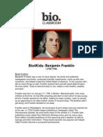 bio4kidsbenjaminfranklin