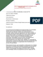 Estructura DEFINITIVA Del Proyecto Invertebrados