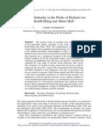 Article - Sexual Modernity in Krafft-Ebing