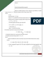 Tugas Pekan 9 Fisika Dasar 2 2012