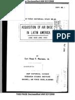 AAF Latin America Air Bases History