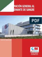 Manual de La Donacion de Sangre